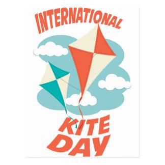 International Kite Day - Appreciation Day Postcard