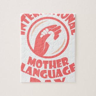 International Mother Language Day - 21st February Jigsaw Puzzle