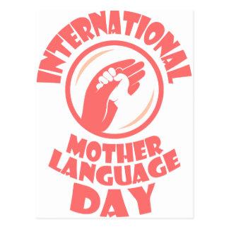 International Mother Language Day - 21st February Postcard