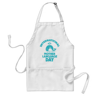 International Mother Language Day - 21st February Standard Apron