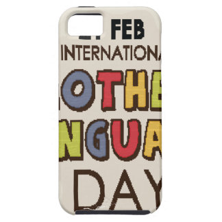 International Mother Language Day-Appreciation Day iPhone 5 Case