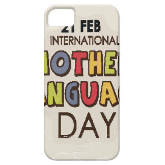 International Mother Language Day-Appreciation Day iPhone 5 Cover