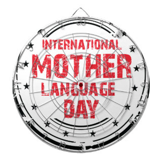 International Mother Language Day Dartboard