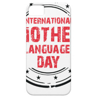 International Mother Language Day iPhone 5 Case