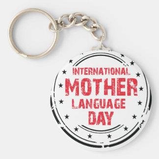 International Mother Language Day Keychain