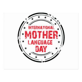 International Mother Language Day Postcard