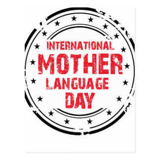International Mother Language Day Postcard