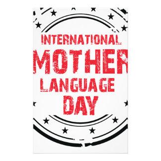 International Mother Language Day Stationery