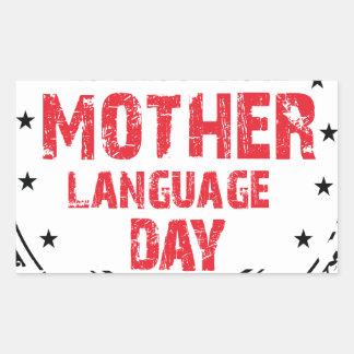 International Mother Language Day Sticker