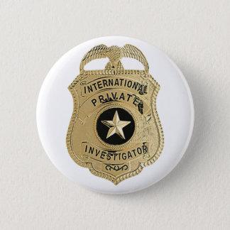 International Private Investigator 2 Inch Round Button