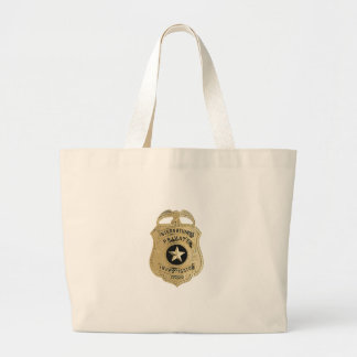 International Private Investigator Large Tote Bag