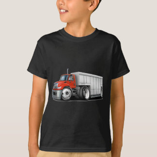 International Red-White Delivery Truck T-Shirt