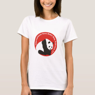 International Save Bears Day  PANDA T-Shirt