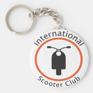 International Scooter Club Keychain