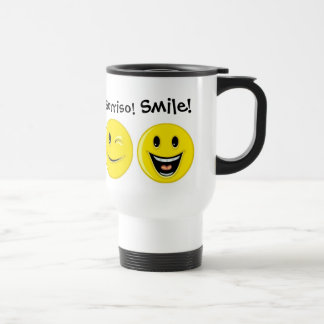 International Smiles ... ; ) Travel Mug