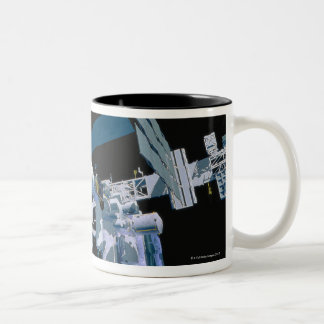 International Space Station 3 Two-Tone Coffee Mug