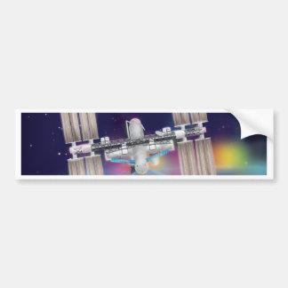 International Space Station Bumper Sticker