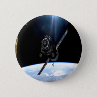 international space station iss nasa aerospace 2 inch round button
