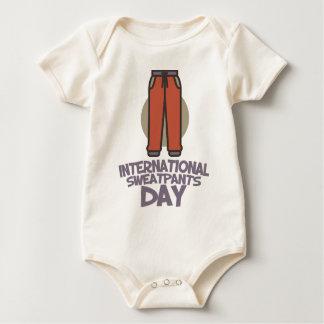 International Sweatpants Day - Appreciation Day Baby Bodysuit