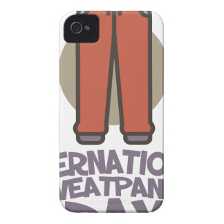 International Sweatpants Day - Appreciation Day iPhone 4 Covers