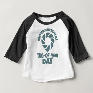 International Tug-of-War Day - 19th February Baby T-Shirt
