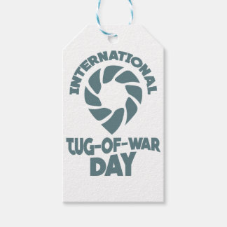 International Tug-of-War Day - 19th February Pack Of Gift Tags