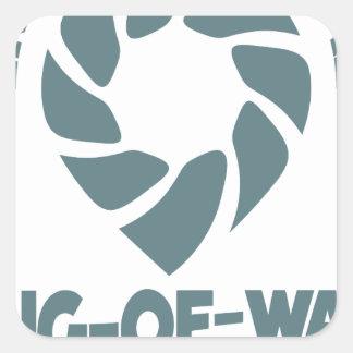 International Tug-of-War Day - 19th February Square Sticker