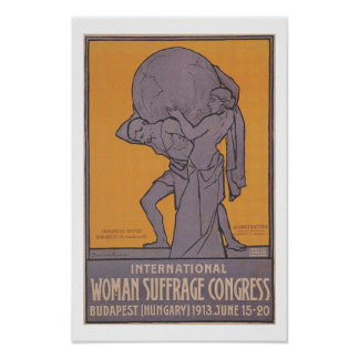 International Women Suffrage Congress Poster
