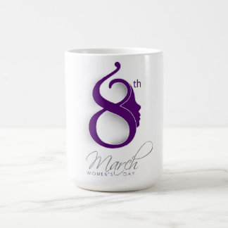 International Women's Day Purple Logo Coffee Mug