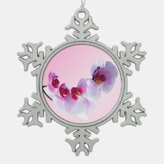 International Women's Day. Snowflake Pewter Christmas Ornament