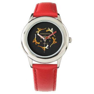 International yoga day june 21 wrist watches