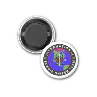 International Zombie Sniper Team Magnet