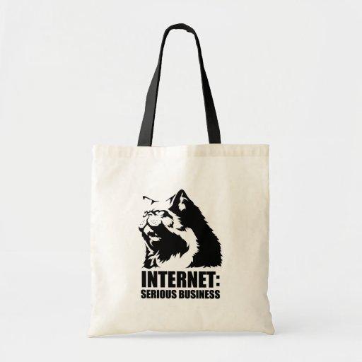 Internet : Affaires sérieuses (T-shirt drôle de lo Sacs