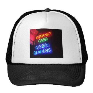 Internet Cafe Mesh Hats