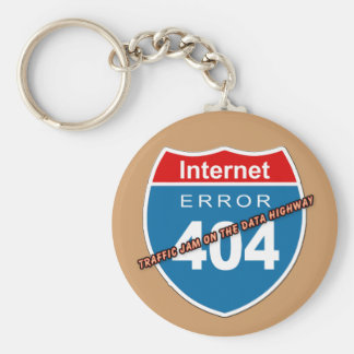 Internet Error 404 Keychain
