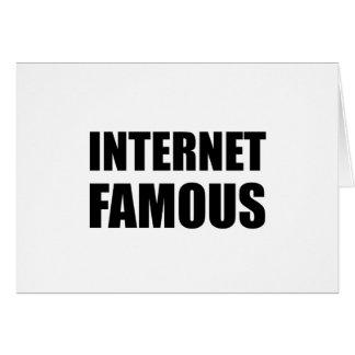 Internet Famous Card