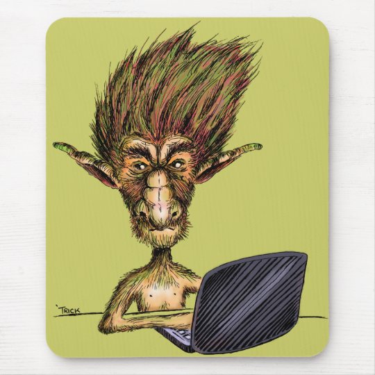 Internet Troll Mouse Pad