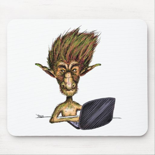 Internet Troll Mousepad