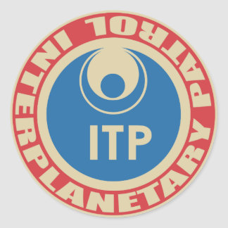 Interplanetary Patrol Sticker