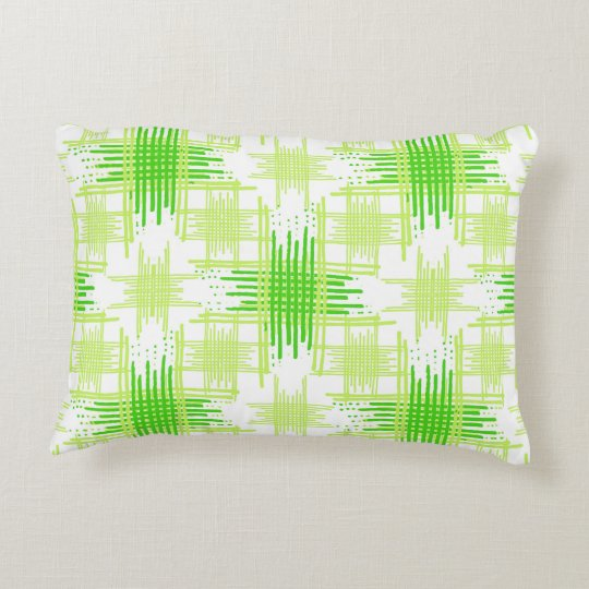 Intersecting Lines Pattern Accent Pillow