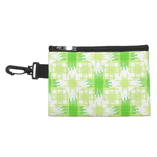 Intersecting Lines Pattern Accessory Bag