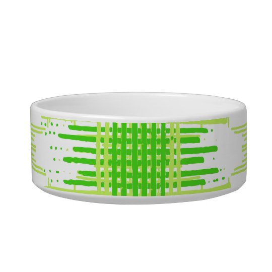 Intersecting Lines Pattern Bowl