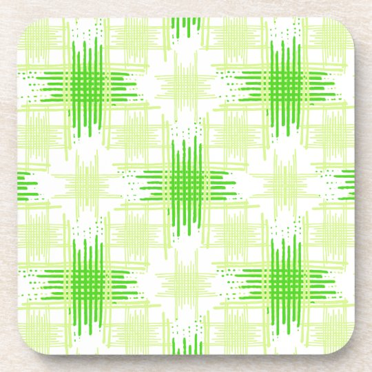 Intersecting Lines Pattern Coaster
