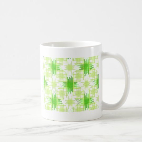 Intersecting Lines Pattern Coffee Mug