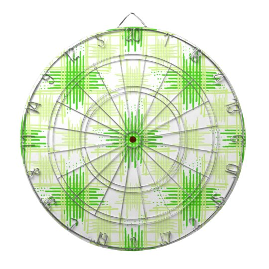 Intersecting Lines Pattern Dartboard