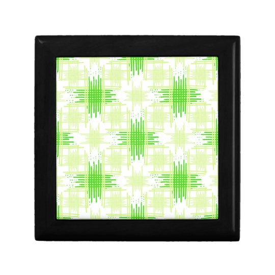 Intersecting Lines Pattern Gift Box