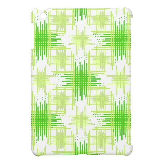 Intersecting Lines Pattern iPad Mini Case