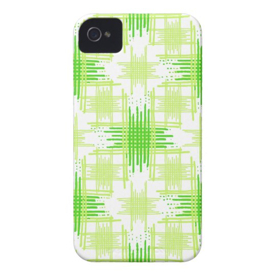 Intersecting Lines Pattern iPhone 4 Cases