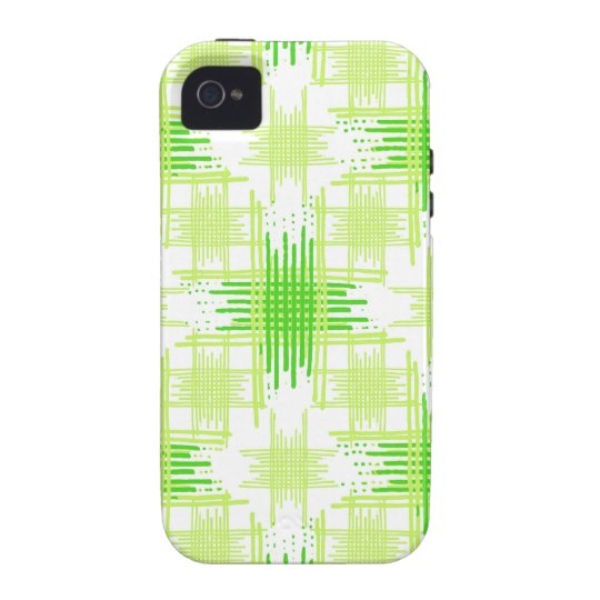 Intersecting Lines Pattern iPhone 4 Cover