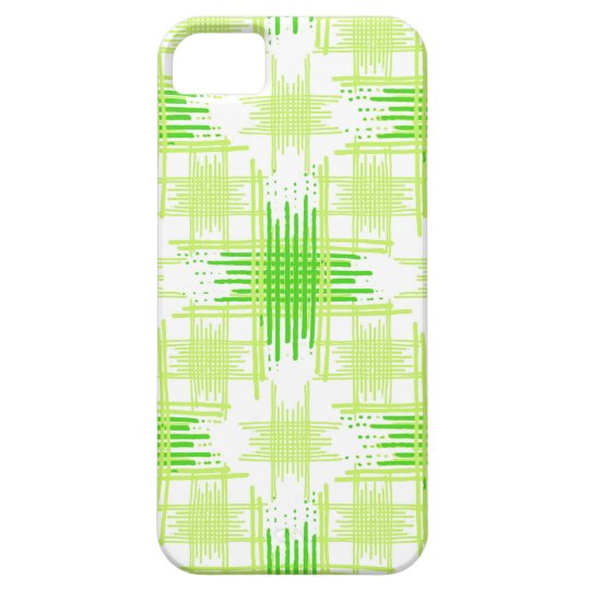 Intersecting Lines Pattern iPhone 5 Case